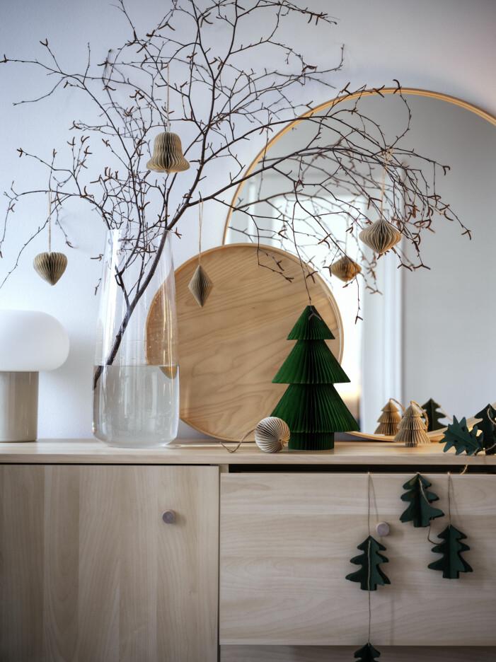 Julen på Ikea 2021, trä