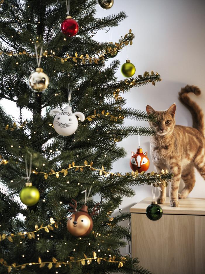 Julen på Ikea 2021, julpynt