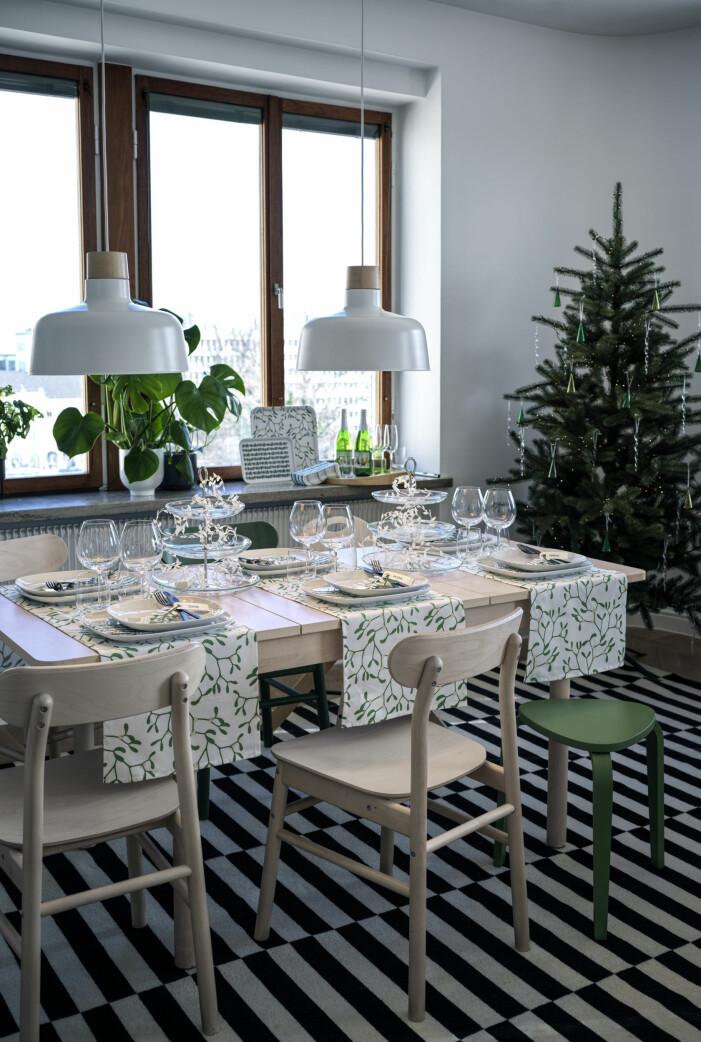 Julen på Ikea 2021, bordsdukning