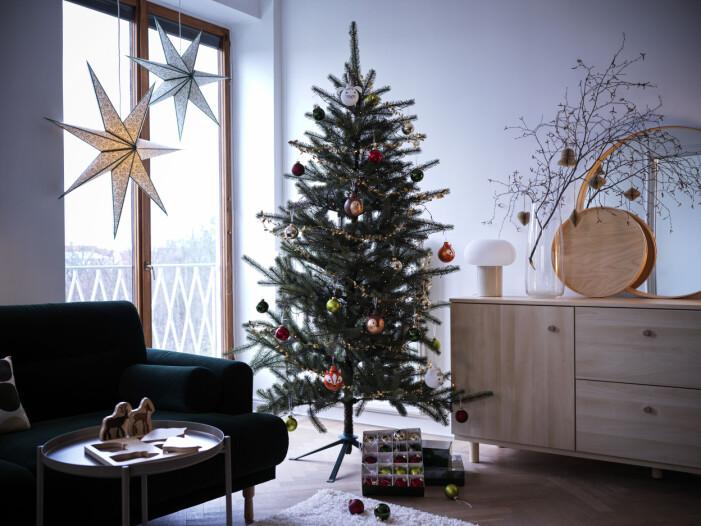 Julen på Ikea 2021, julgran
