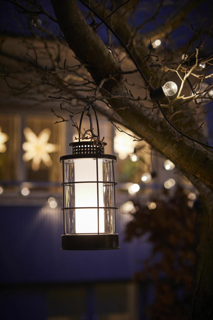 Julen på Ikea 2021, ljuslykta