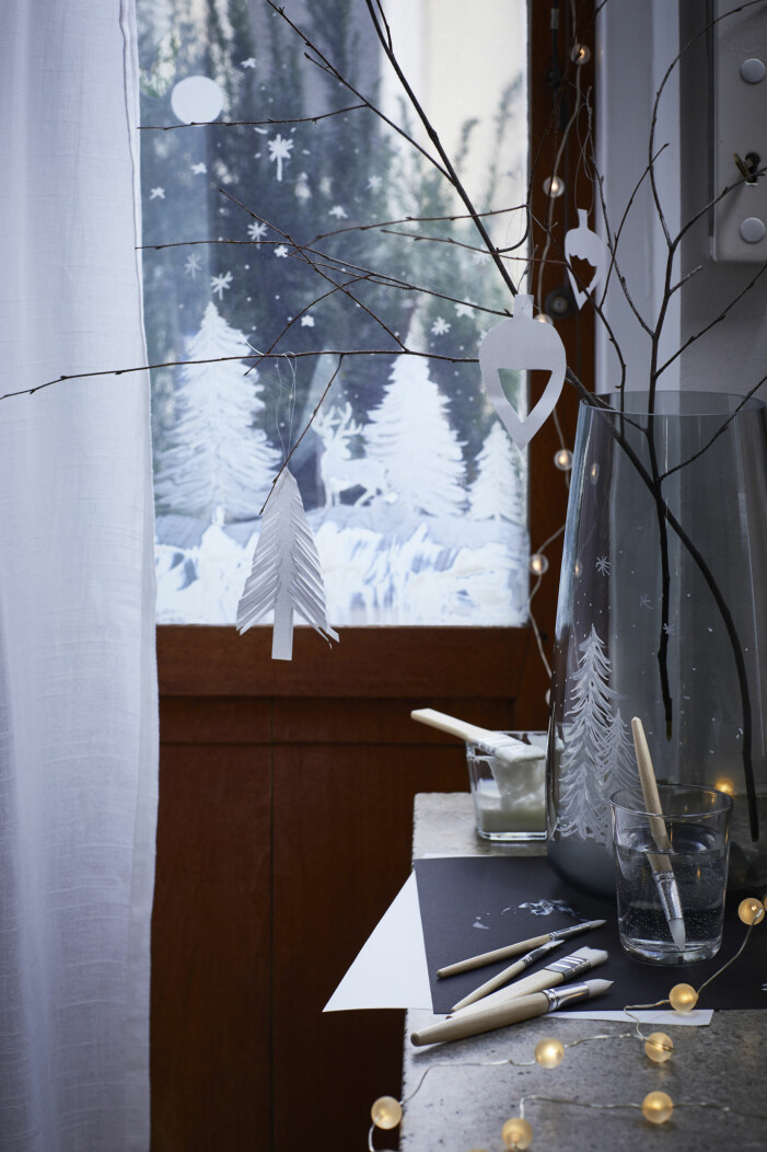 Julen på Ikea 2021, belysning