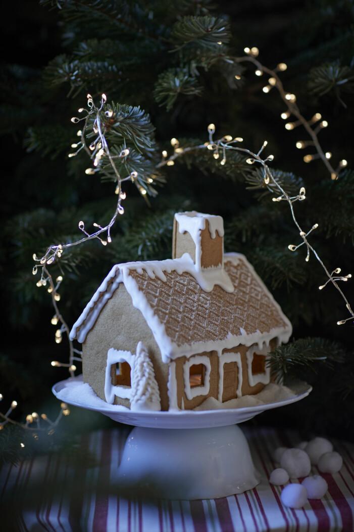 Julen på Ikea 2021, pepparkakshus