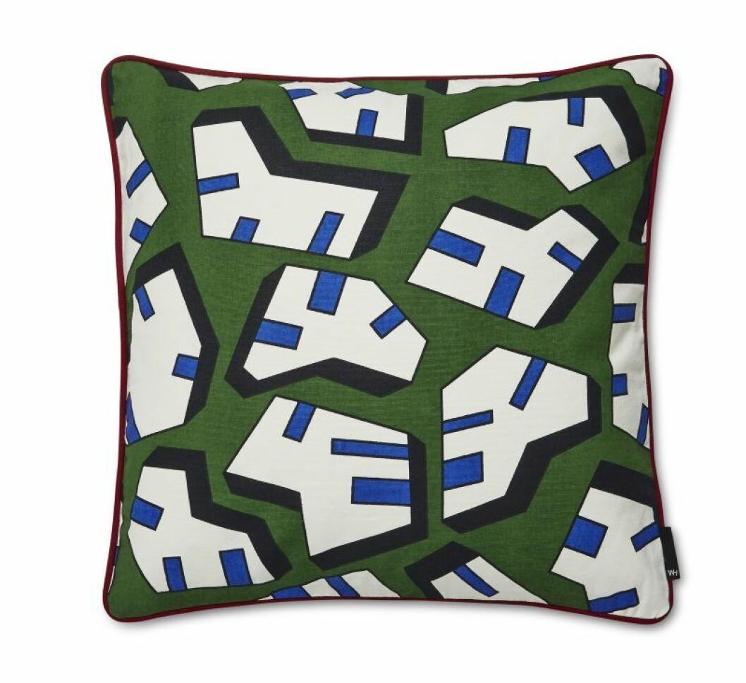 WH Printed Cushion Ice 50x50