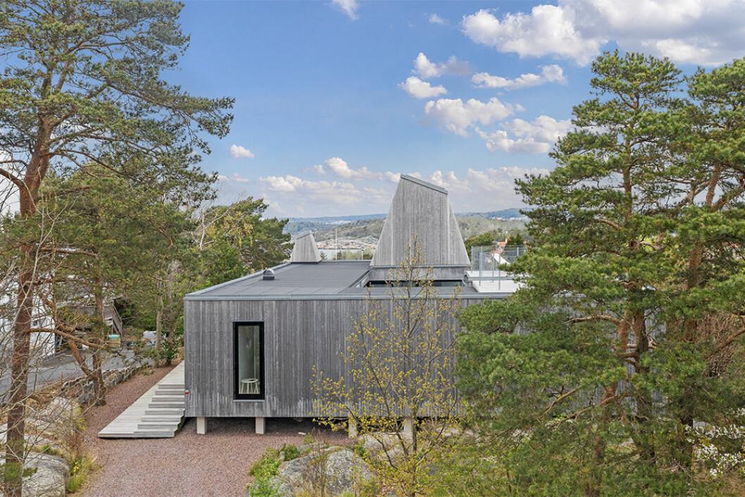 Villa Kristina av Wingårdhs arkitekter är insynsskyddat