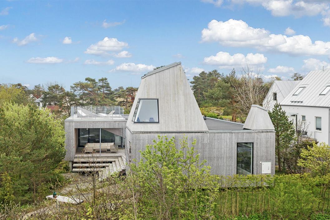 Arkitekturen i Villa Kristina är minimalistisk men med wow-faktor