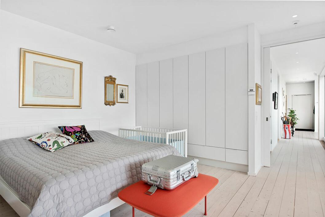 Sovrum i Villa Kristina av Wingårdhs arkitekter