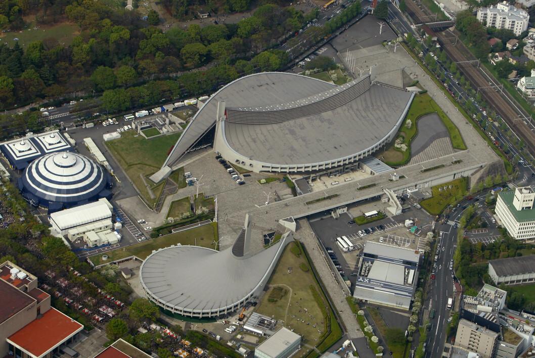 Yoyogi National Gymnasium, OS Tokyo 1964
