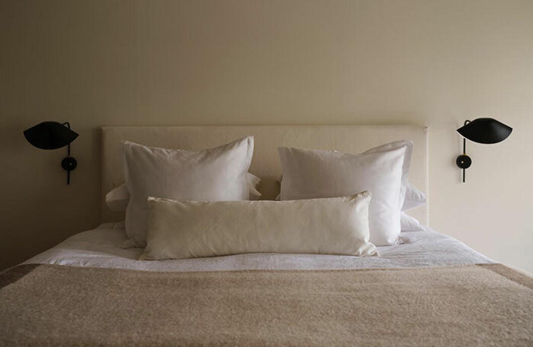 Beige nyanser i sovrummet hos Zara Home